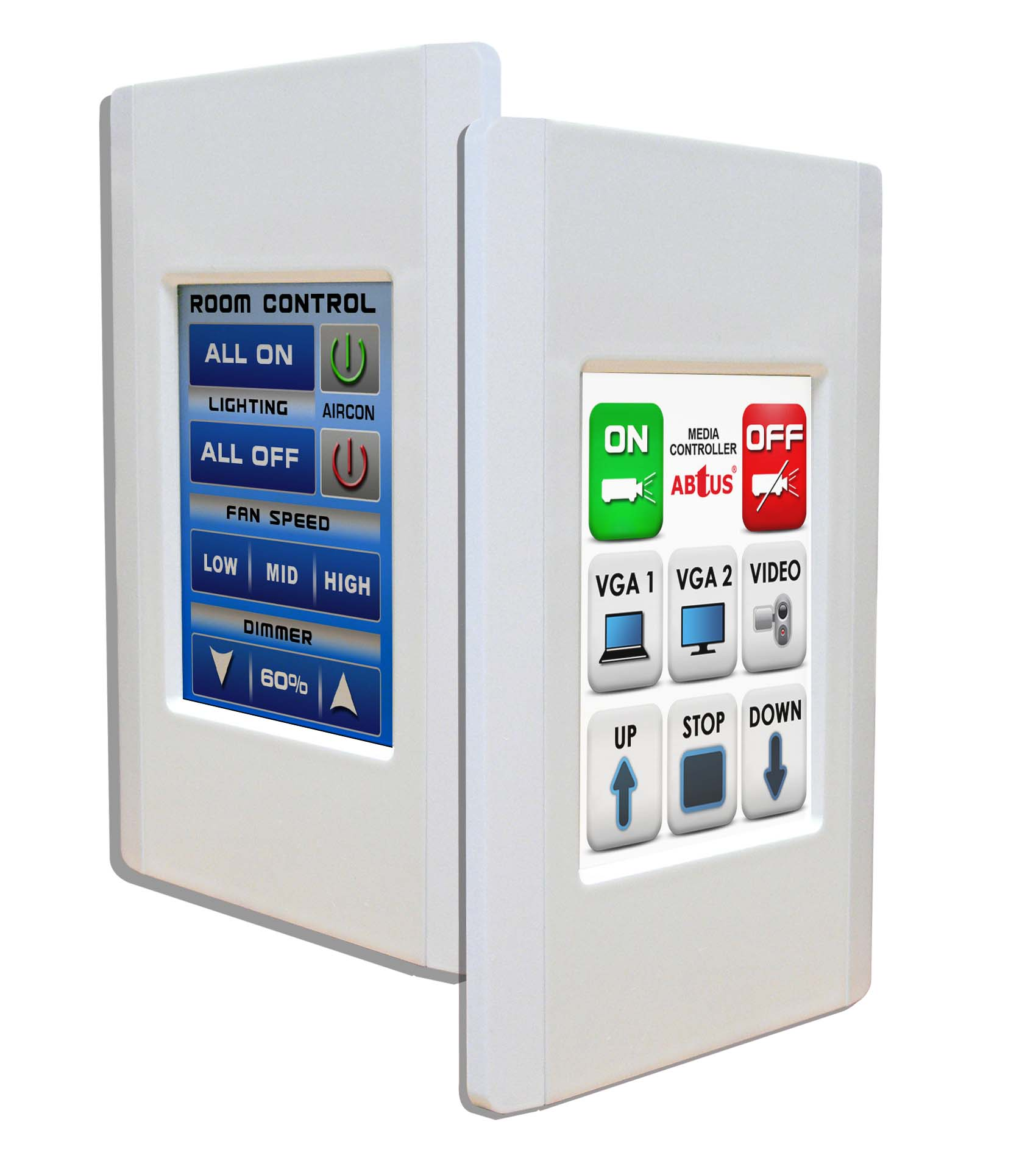 In Room Control Panel User Programmable Touch Control